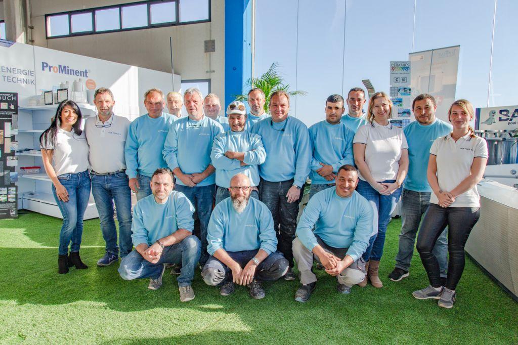 Das Team Sunpool Mallorca